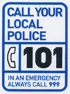 Police 101 poster
